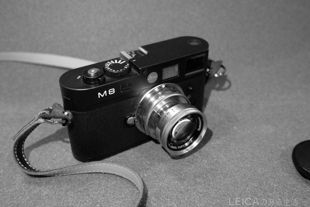 M8と沈胴ズミクロン